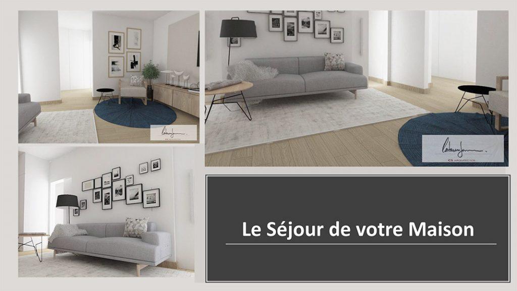 Détail appartement à vendre Séjour salon